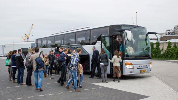 Jonge Achterhoekers twee dagen in Brussel met onze Setra Touringcar.